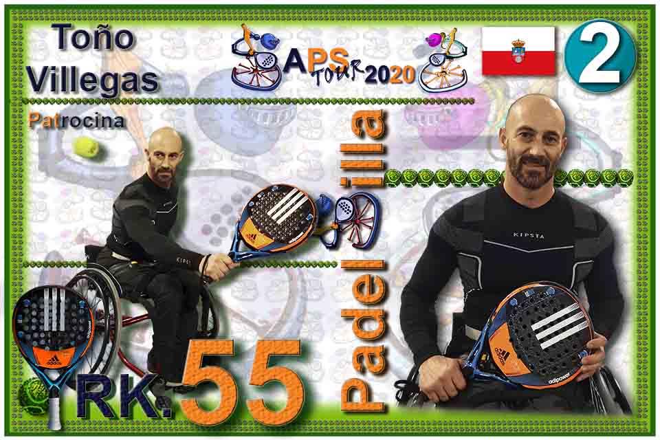 Rk055 CromoH Antonio Villegas